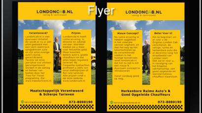 LondonCab Flyer